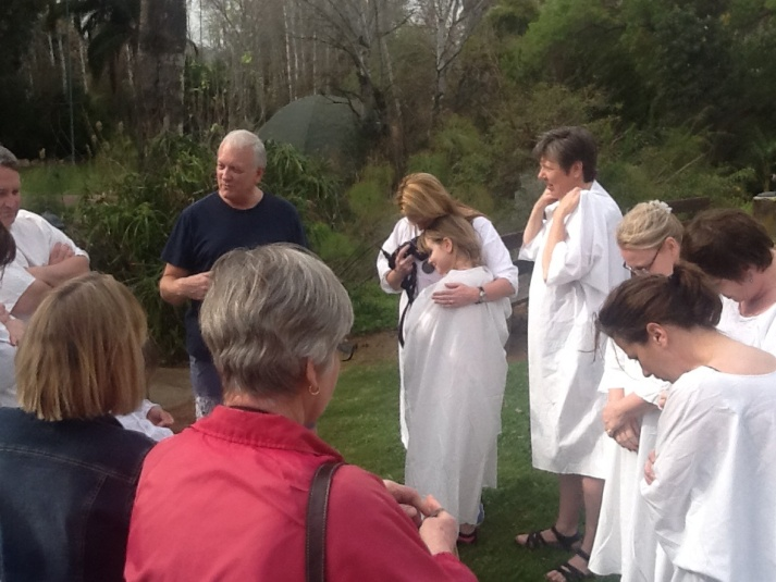 Zoë to be baptized