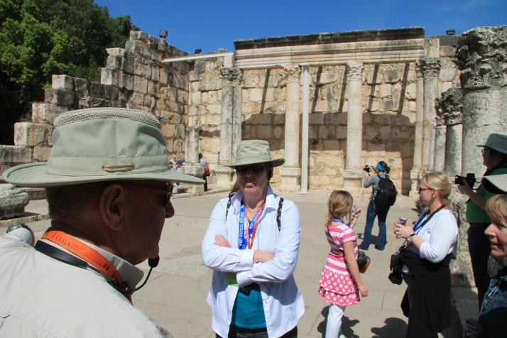 Zoë at Capernaum