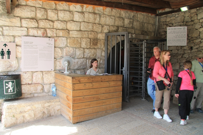 Zoë and her mother at the City of David